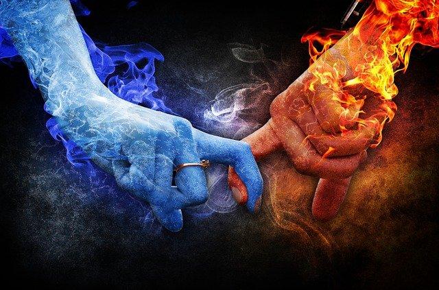 ruce oheň a voda