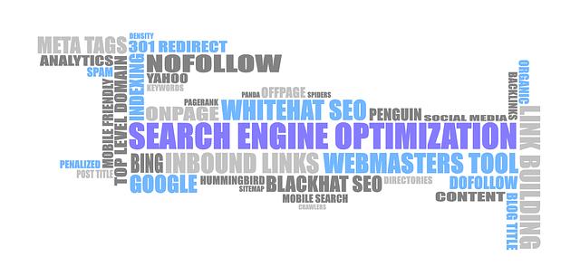 Search Engine Optimization, slová