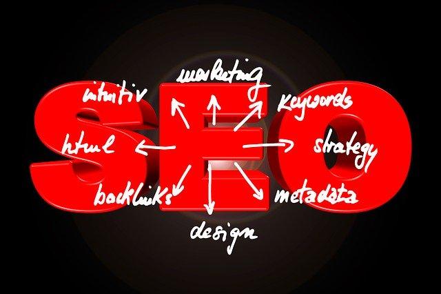 SEO, červená, šípky, nástroje